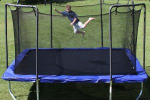 Assessing the quality of spring free trampoline